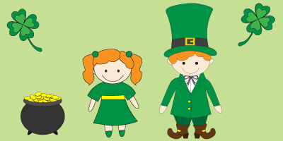 Saint Patricks Day Graphic for the Blog