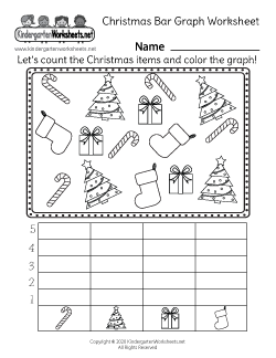 Christmas Bar Graph Worksheet