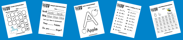 Kindergarten Worksheets Free Printable Worksheets for – Free Kindergarten Worksheets