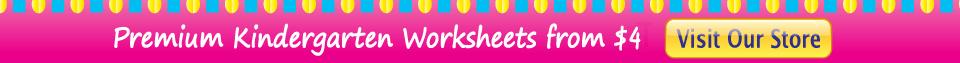 Download Premium Kindergarten Worksheets