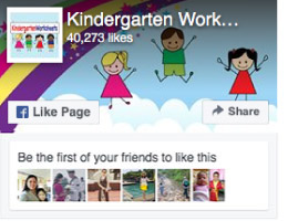 Kindergarten Worksheets Facebook Page
