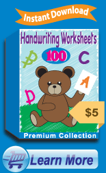 Premium Handwriting Worksheets Collection