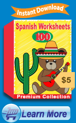 Premium Spanish Worksheets Collection