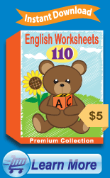 Premium English Worksheets Collection