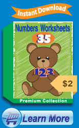 Premium Numbers Worksheets Collection