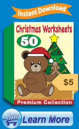 Premium Christmas Worksheets Collection