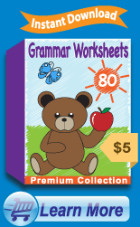 Premium Grammar Worksheets Collection