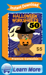 Premium Halloween Worksheets Collection