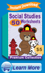 Premium Social Studies Worksheets Collection