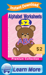 Premium Alphabet Worksheets Collection