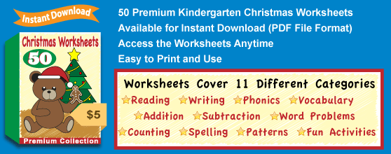 Premium Christmas Worksheets Collection Details