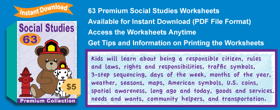 Premium Social Studies Worksheets Collection Details