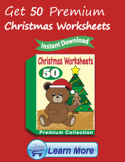 Get the Premium Christmas Worksheets Package