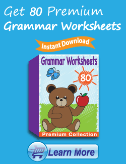 Get the Premium Grammar Worksheets Package