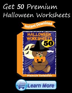 Get the Premium Halloween Worksheets Package