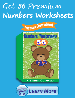 Get the Premium Numbers Worksheets Package