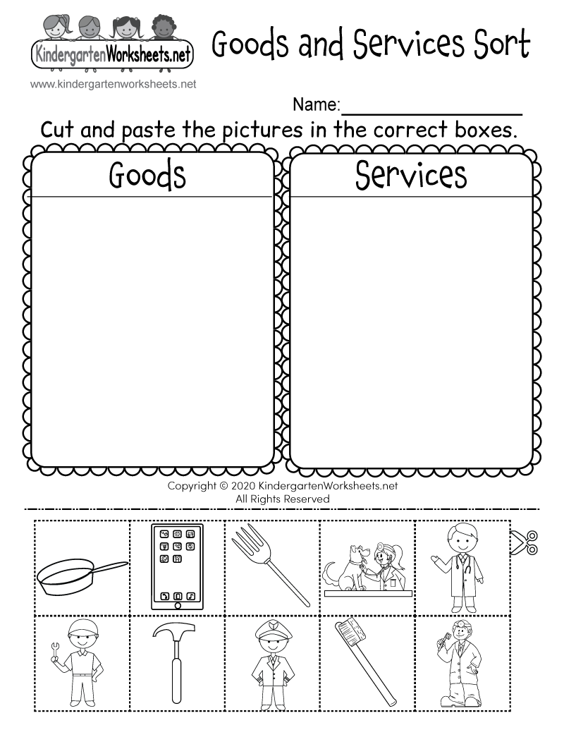 Wants and Needs Worksheets for Kids - careless.me
